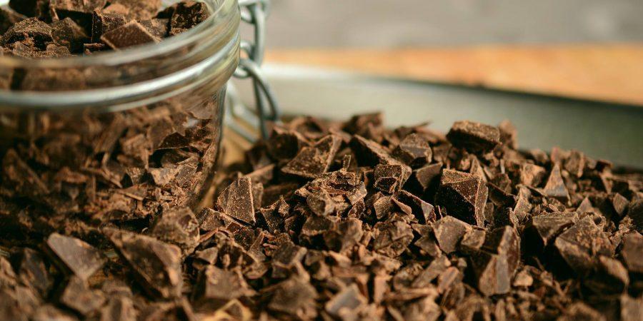 Eclats de chocolat